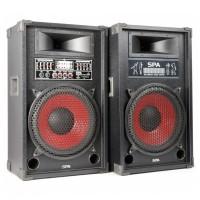 """Skytec Karaoke Set, aktivní 2x 12"""" systém, USB / SD / MP3, cena"""