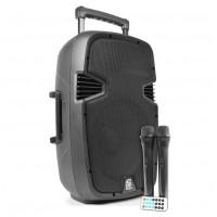"Skytec SPJ-PA 912, aktivní 12"" reprobox MP3-SD-USB-2xVHF 250W"