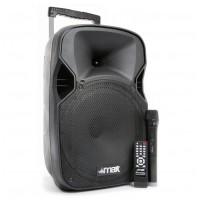 """MAX P12, mobilní 12"""" zvukový systém, BT/MP3/USB/SD/VHF/IRC"""
