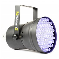 BeamZ LED PAR-36, 55x10mm UV LED, DMX