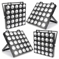 BeamZ LED MadMax SET 4x25 10W COB TCL LED, DMX