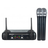 Skytec STWM722, mikrofonní set UHF, 2 kanálový, 2x ručka