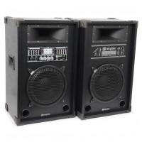 """Skytec Karaoke Set, aktivní 2x 8"""" systém, USB / SD / MP3, cena / p"""