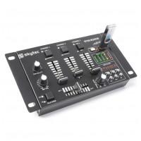 Skytec STM-3020 mini mixážní pult s MP3 přehrávačem