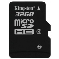 Kingston Micro SDHC 32GB Class 4 w SD Adapter