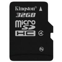 Kingston Micro SDHC 32GB Class 4 w SD Adapter