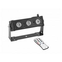 Eurolite LED BAR-3, světelná lišta 3x 12W HCL LED