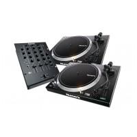 Numark DJ SET: 2x NTX1000 + M4 Black