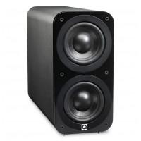 Q Acoustics 3070s Čierna koža