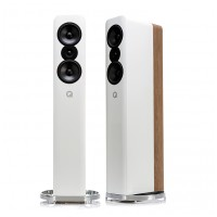 Q Acoustics Concept 500 Gloss White / Light Oak