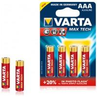 Varta MAXTECH AAA 4X