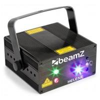 BeamZ Helene Double laser RG Multi point IRC 3W Blue LED