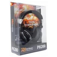 Power Dynamics PH200 DJ sluchátka, stříbrná