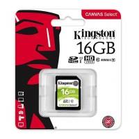 Kingston SDHC karta 16GB Canvas Select UHS-I U1