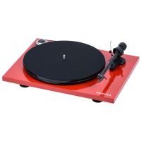 ProJect Essential III Phono + OM10 piano červená Červená