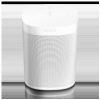 Sonos One  Biela