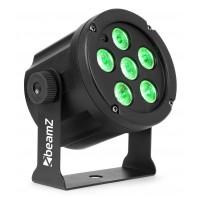 BeamZ LED FlatPAR 6x 3W TCL, RGB