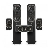Q Acoustics Q3050i set čierny (2x3050i + 2x3010i + 1x3090Ci)