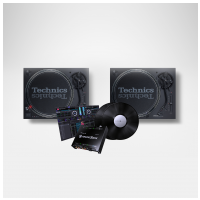 Technics 2 x SL 1210 MK7 + Pioneer DJ Interface 2 (set)