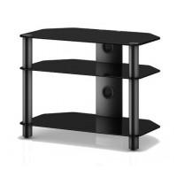 Sonorous Neo 370 B-BLK čierne sklo / čierne nohy