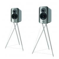 Q Acoustics Concept 300 strieborné/eben