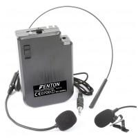 Fenton VHF náhlavní a klopová mikrofonní sada 201.400 MHz