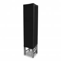 BeamZ Návlek na konstrukci, 1 m, černý