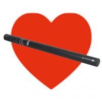 Showtec Handheld confetti cannon pro 80cm Red Hearts