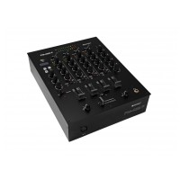 Omnitronic PM-422P,  4-kanálový mixážní pult s MP3/BT přehrávačem