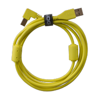 UDG Ultimate Audio Cable USB 2.0 A-B Yellow Angled 2m