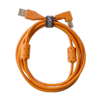 UDG Ultimate Audio Cable USB 2.0 A-B Orange Straight 1m