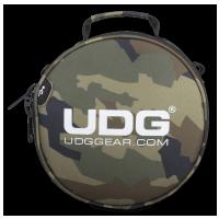 UDG Ultimate Digi Headphone Bag Black Camo, Orange inside