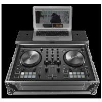 UDG Ultimate Flight Case NI Kontrol S2 MK3 Silver Plus (Laptop shelf)
