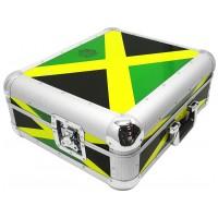 ZOMO Flightcase SL-12 XT | Technics SL-1200 / SL-1210 JAMAICA FLAG