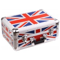 ZOMO Flightcase CDJ-10 XT UK FLAG