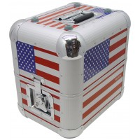 ZOMO Recordcase MP-80 XT USA FLAG