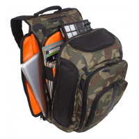 UDG Ultimate DIGI Backpack Black, Camo/ Orange inside