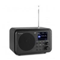 Audizio Milan přenosné DAB+ rádio s baterií Černá