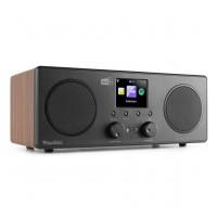 Audizio Bari internetové Wi-Fi stereo DAB+ rádio hnědá
