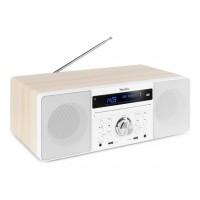 Audizio Prato all-in-one hudební systém s CD/DAB+ Bílá