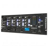 Skytec STM-3005REC 4-Channel Mixer EQ USB/MP3 Record