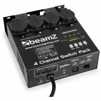BeamZ Switch pack, 4 kanálový spínač DMX