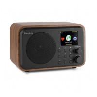 Audizio Venice Wi-Fi internetové rádio s baterií Hnědá