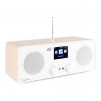 Audizio Bari internetové Wi-Fi stereo DAB+ rádio Bílá