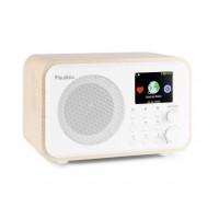 Audizio Venice Wi-Fi internetové rádio s baterií Bílá