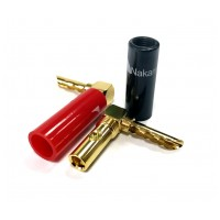 Nakamichi Banana Plugs Angle N0533AE