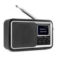 Audizio Parma prenosné DAB + rádio Čierna