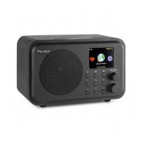 Audizio Venice Wi-Fi internetové rádio s batériou Čierna