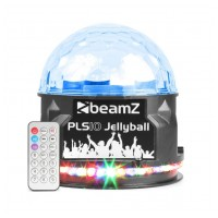 BeamZ PLS10 Jellyball with BT speaker
