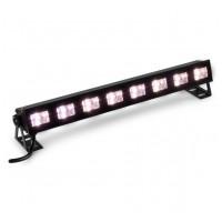 BeamZ BUVW83 BAR světelná lišta, 8x3W UV/W LED